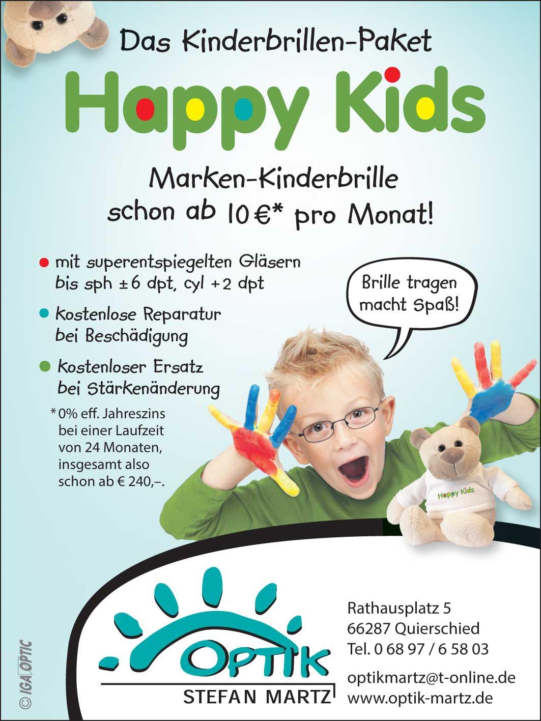 Optik Martz - Kinder Spezial